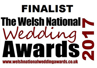 Finalist - Welsh National Wedding Awards 2017