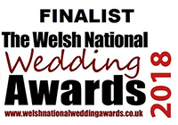 Finalist - Welsh National Wedding Awards 2018
