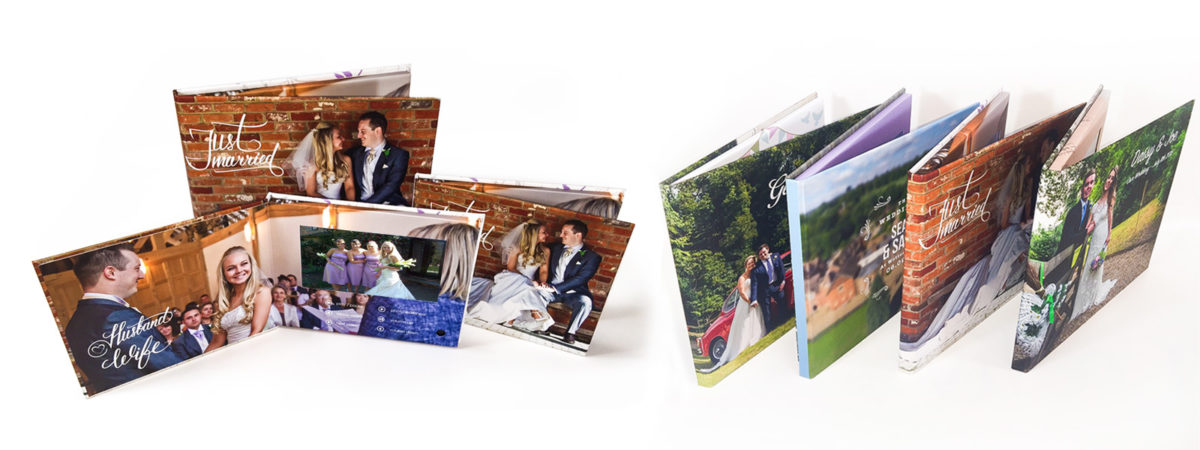 Wedding video album